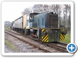 Shunting at Rowsley, May 2014